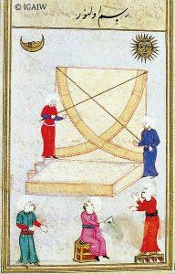 Zeichnung Mauerquadrant aus Hds. Saray, Hazine 452